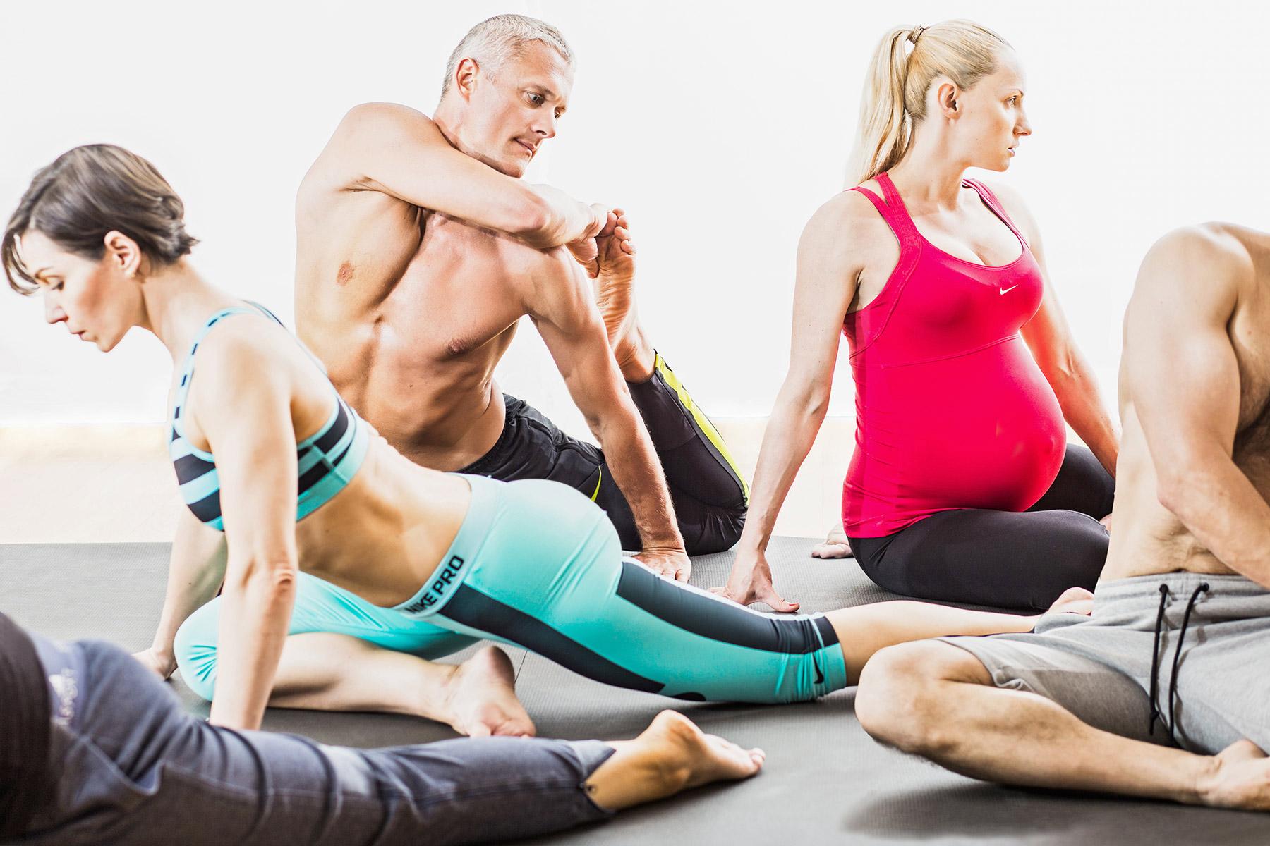 йога в Grand Prix